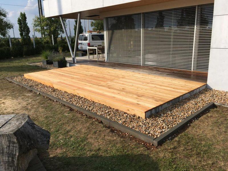terasa ze dřeva